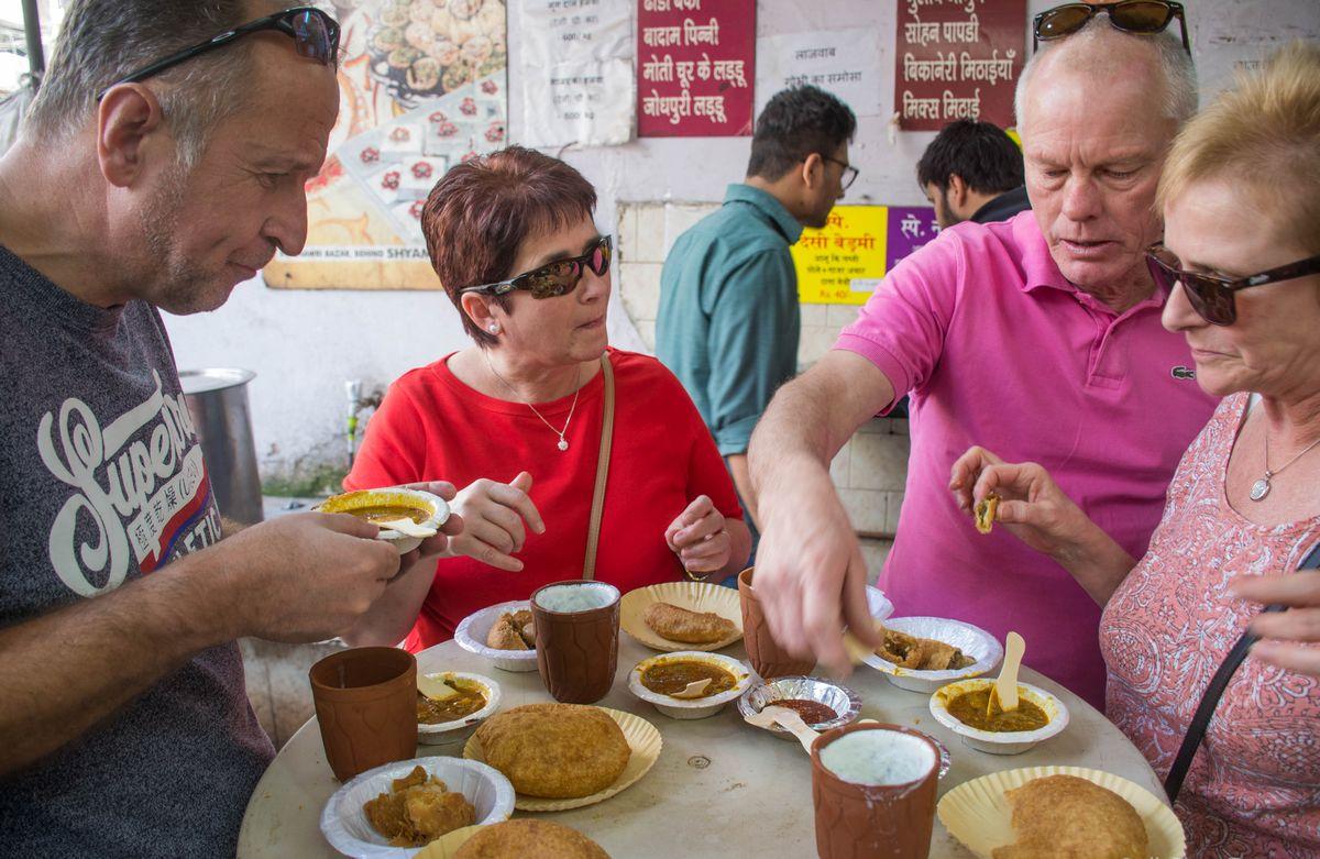 Food Walks of Old Delhi