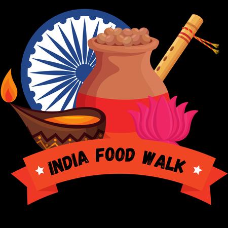 India Food Walk logo small